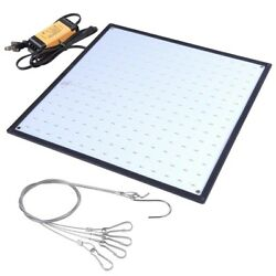 225 Led 3300lm Grow Light Panel Hydroponics Room Tent Plant Lamp All White