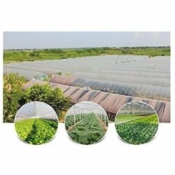Agfabric 3.1mil Plastic Covering Clear Polyethylene Greenhouse Film Uv Resistant