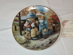 The M J Hummel Plate Collection Little Companions Tender Loving Care Plates2306