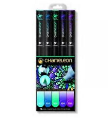 Chameleon Art Products Chameleon 5-Pen Cool Tones Set