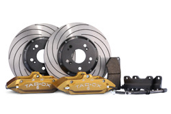 Tarox Front Brake Kit Sport 340mm For Honda Civic Fk2/fk3/fn1 Excl 1.4 And Type R