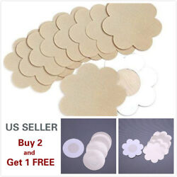 510 Pcs of Invisible Breast Pasties Adhesive Nipple Cover Sticker Pads