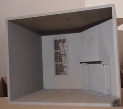 1/12 Scale Dolls House Room Box Setting Inspired By Harry Potter Dhd