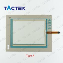 Touch Screen Panel Glass Digitizer for 6AV7722-1AC00-0AD0 + Protect Film Overlay