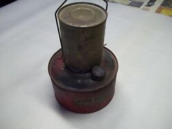 Bunsen Company kerosene Auto Motor Heater for parts or display