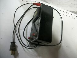 Perry Davis Equipment Ignition Coil and Condenser Tester (working)