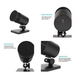 Multipurpose USB Condenser Microphone For Podcasts Gaming Vocal Music Studio
