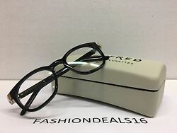 New FRED Lunettes Authentic w TAGS 8445 001 Black MELVILLE C9 49mm Eyeglasses $159.99
