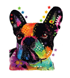 French Bulldog youth T-Shirt kid colorful puppy  toddler US size new s *