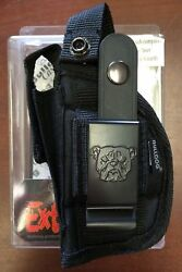 Bulldog Extreme Belt Holster Fits Most Sub Compact Autos with 2