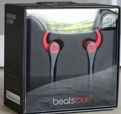 Beats Tour2 Wired In-ear Headphone Active Collection Red New In Box