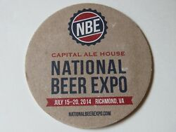 Beer Bar Coaster Capital Ale House In Richmond, Va National Beer Expo 2014 Nbe