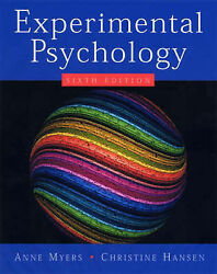 NEW Experimental Psychology (Available Titles CengageNOW) by Anne Myers