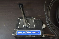 MerControl Mercury Side Mount Control Box With Key & Harness 12' & 10' 3