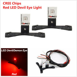 Pair Led Devil Demon Red Eye Module For Auto Car Headlights Projector Lens