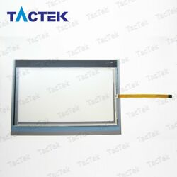 Touch Screen Panel Glass Digitizer For 6av7881-5af00-8aa0 + Overlay Protect Film