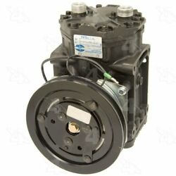 Four Seasons 58022 AC Compressor with Clutch and Specific Electrical Connector