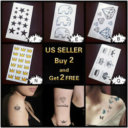 Waterproof Fashion Art Fake Body Temporary Tattoo Stickers Removable Wings