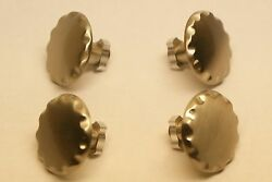 Gto Floormat Clips 2004 2005 2006 Brushed Nickel Set Of 4