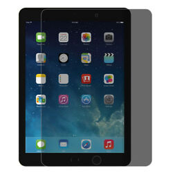 Privacy Tempered Glass Anti-Spy Screen Protector Film For iPad Mini Pro Air Lot