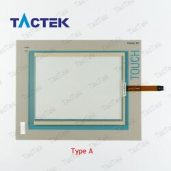 Touch Screen Panel Glass Digitizer for 6AV7722-1AC10-0AF0 + Protect Film Overlay