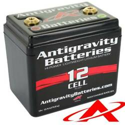 New Antigravity Batteries 12-cell Small Case Motorcycle Battery Ag-1201
