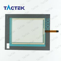 Touch Screen Panel Glass Digitizer for 6AV7800-0AA10-2AC0 + Overlay Protect Film