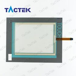 Touch Screen Panel Glass Digitizer for 6AV7800-0AC12-0AC0 + Overlay Protect Film