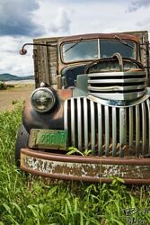 1946 Chevrolet Old Truck - Home Wall Decor Photograph Print Poster Or Canvas