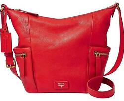 New Fossil Emerson Women Small Hobo Crossbody Bags Variety Colors