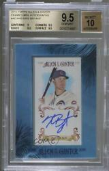 2015 Topps Allen And Ginterand039s Framed Mini Kris Bryant Aga-kb Bgs 9.5 Rookie Auto