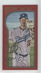 2015 Topps Gypsy Queen Minis Red /50 Clayton Kershaw 119