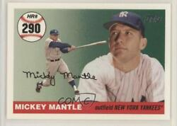 2006 Topps Multi-year Issue Home Run History Mickey Mantle Mhr290 Hof