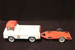 1960andrsquos Vintage Nylint Ford No. 5900 Raceteam Truck With Trailer