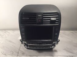 06-08 Acura TSX Oem Navigation Cd Player Heat Ac Temperature Climate Control