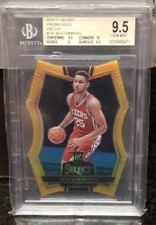 2016-17 Panini Select Ben Simmons Gold  Die-Cut RC Rookie 810 BGS 9.5 INVEST!