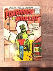 Forbidden Worlds- 100- Gala 100th Issue -1961 Vintage Comic- Very Good