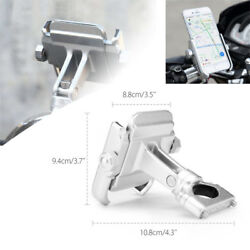 1X 360° Motorcycle Bicycle Handlebar Mount Holder For GPS Mobile Phone Pratical