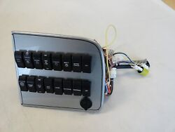 ILLUMINATED ROCKER SWITCH PANEL W BUSS BAR 10 12