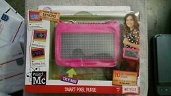 Project Mc2 Smart Pixel Purse Animate Image Scrolling Text New Ships In A Box