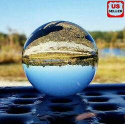 60mm Photography Crystal Ball Sphere Decoration Lens Photo Prop Lensball Clear $8.96