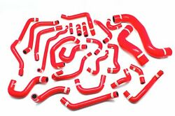 Full Silicone Radiator And Heater Hose Kit For At Subaru Legacy Bp5 Bl5 03-09