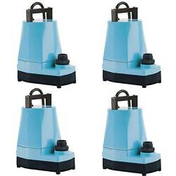 Little Giant 5 MSP 16 HP 1200 GPH Submersible or Inline Utility Pump (4 Pack)