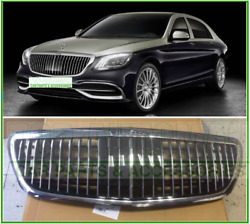 Mercedes Benz S-Class Maybach S650 S680 Front Grille Chrome Strip Grille ACC