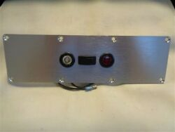 Side Marker Clearance Led Light Switch Panel Aluminum 11 3/8 X 3 3/8 Boat