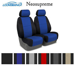 Coverking Custom Seat Covers Neosupreme Front Row 6 Color Options $169.99