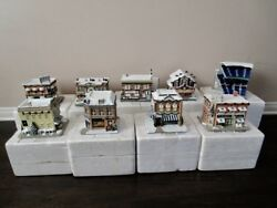 Hawthorne Village New York Yankees Trains And Houses 20 Buildings 12 Train Cars