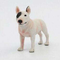 Resin Bull Terrier Dog Hand Painted simulation model Statue Pet Lovers Gift