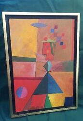 Whisper Of A Song Roy Gover Oil Painting 1970 Featured In Sfmoma Exhibition