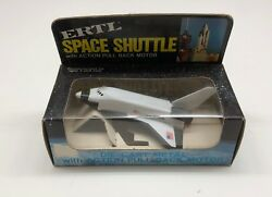 Die Cast Metal 5 White Space Shuttle W/ Pull Back Action
